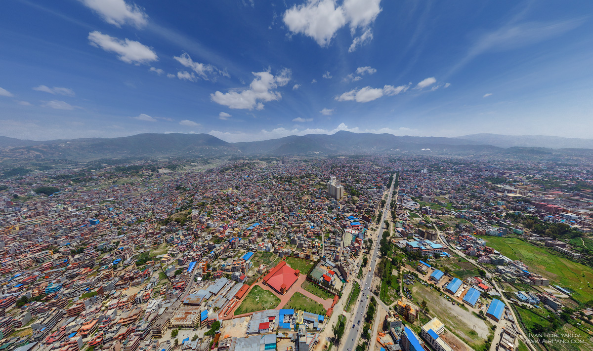 01 Aerial Photos of Kathmandu by AirPano