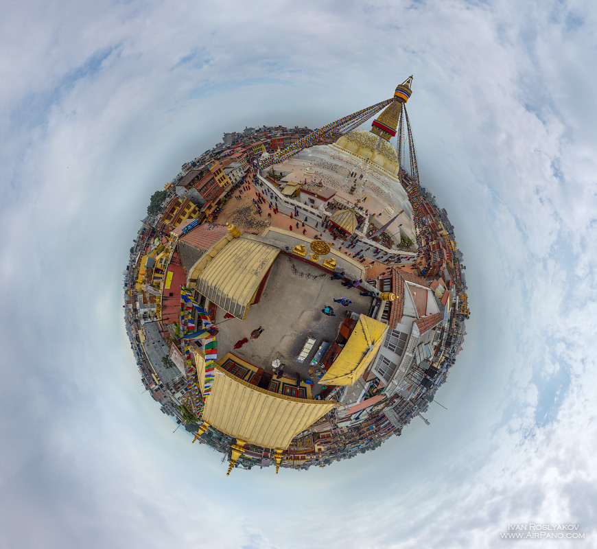 03 Aerial Photos of Kathmandu by AirPano