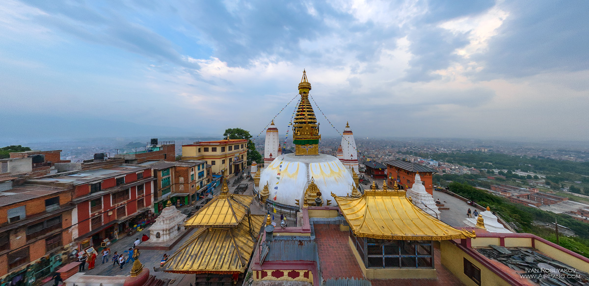 05 Aerial Photos of Kathmandu by AirPano